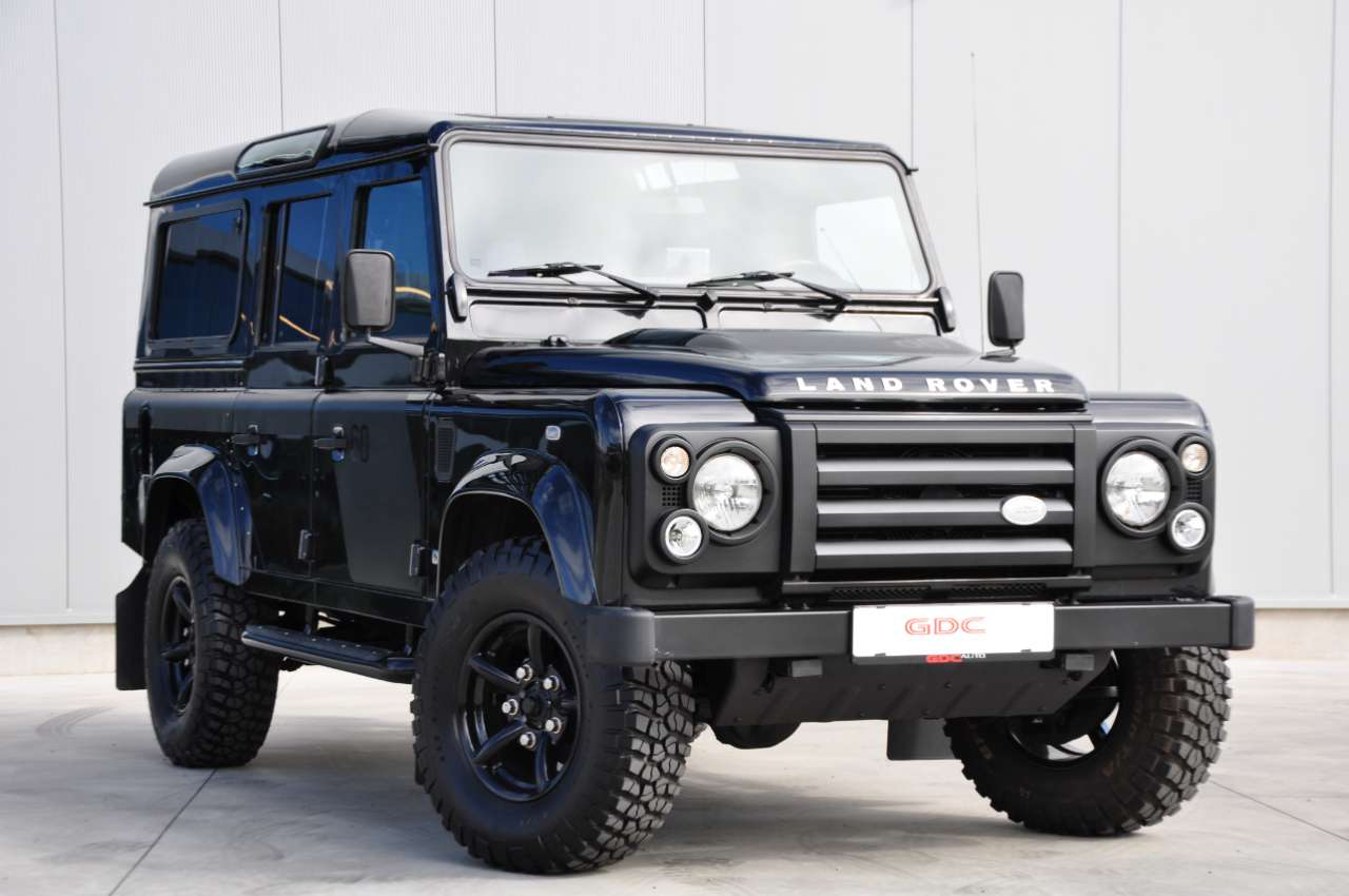 GDC Auto Land Rover  Defender Land Rover 110 SVX 60th Anniversary Limited 7pl!